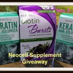 #ThankfulNStuffed A Thanksgiving #Giveaway Hop: Neocell Biotin Bursts & Keratin Hair Volumizer Ends Nov. 17 ENDED