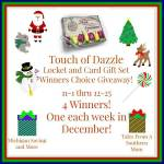 Touch of Dazzle Locket and Gift Card Set Winners Choice #Giveaway #GTG2015 Ends Dec. 25 ENDED