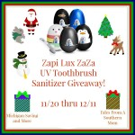VioLife Zapi Lux UV Toothbrush Sanitizer #Giveaway #GTG2015 Ends Dec. 11 ENDED