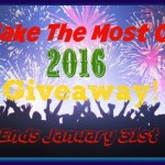 Make The Most Of 2016 #Giveaway #MTM2016 @las930 Ends Jan. 31 ENDED