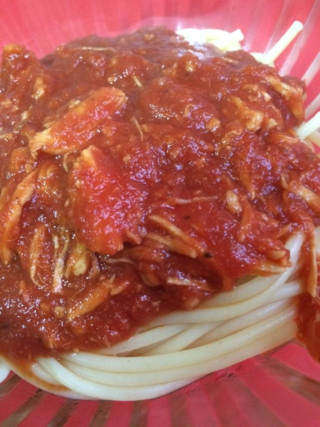 chicken marinara sauce