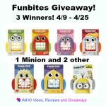 Funbites #Giveaway Ends April 25