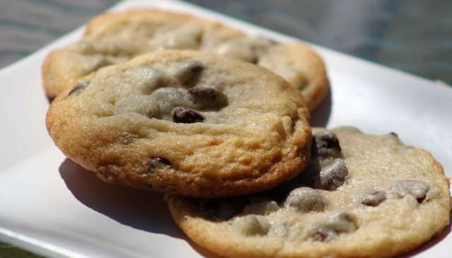 coconut and chocolate chip cookies