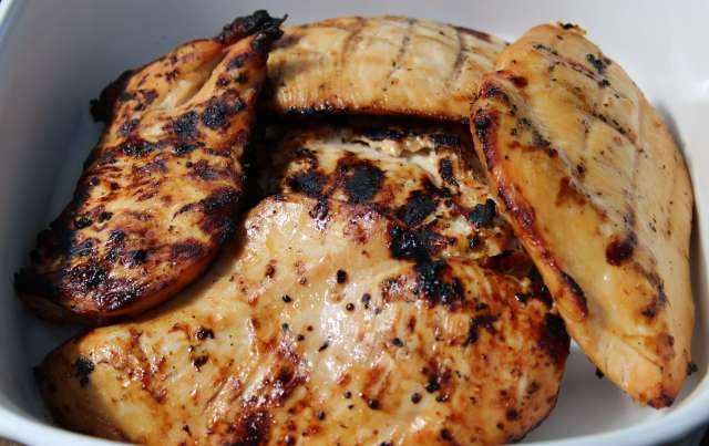 This is our favorite lemon lime soda marinade for grilling chicken breasts.