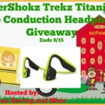 AfterShokz Trekz Titanium Bone Conduction Headphones #Giveaway Ends Aug. 15 @las930 @AfterShokz *ENDED*