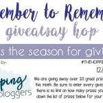 December to Remember #Giveaway Hop *ENDED*