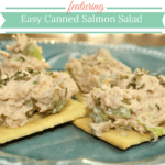 Easy Canned Salmon Salad #Recipe