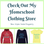 Check Out My Homeschool Clothing!