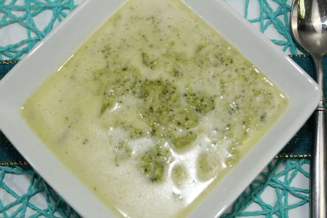 Creamy Broccoli Soup is delicious accompanying a great meal, a simple sandwich, or as a meal by itself.