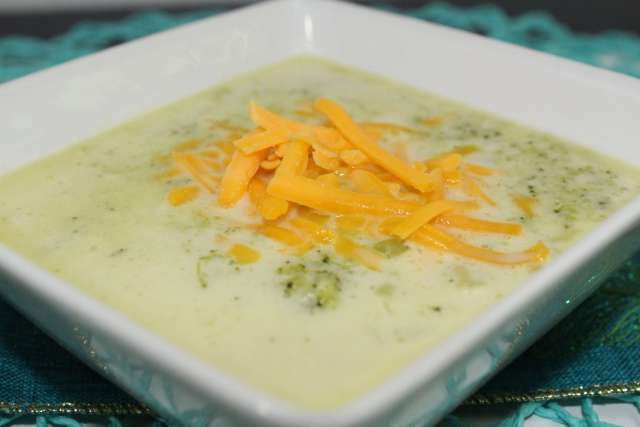 I have GOT to try this creamy broccoli soup.