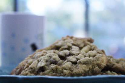 This cranberry white chocolate chip oatmeal cookie combines all my favorite flavors into one fabulous cookie.