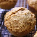 Cinnamon Pumpkin Muffin using Cinnamon Bun Cake Mix