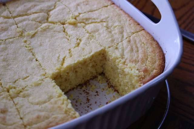 Amber's Homemade Cornbread Recipe from Simply Made Recipes was recreated for November's recipe swap. Yum!