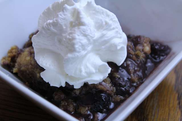Have you tried this Blackberry Cobbler? This slow cooker recipe could not be any easier!