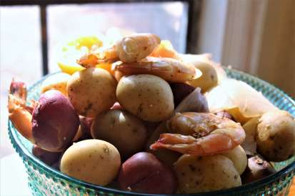 Cajun Boiled Shrimp