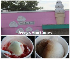 Jerry's Sno Cones is a popular Memphis stop.