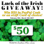 Luck of the Irish 2017 #Giveaway Ends Mar. 10