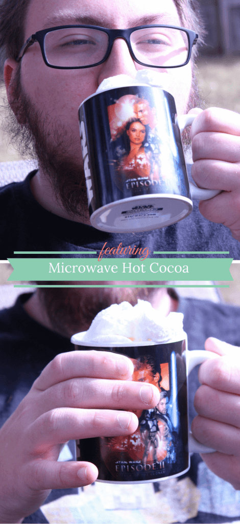 Single serving, microwave hot cocoa recipe!