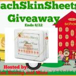 PeachSkinSheets #Giveaway @las930 @PeachSkinSheets Ends Aug. 22 *ENDED*