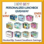 Summer Is Here! I See Me Lunchbox #GIVEAWAY Ends July 4