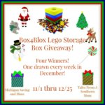 Box4Blox Storage Box for Lego's #Giveaway #GTG2015 Ends Dec. 25