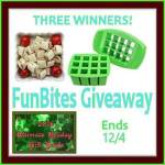 FunBites Green Squares Shaped Food Cutter #GIVEAWAY Ends Dec. 4