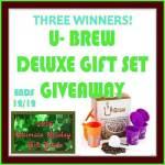 U-Brew #Giveaway Ends Dec. 12 *ENDED*