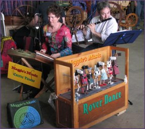 Roverdance Musical Clogging Puppets