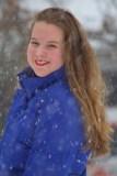 Snowy smile.
