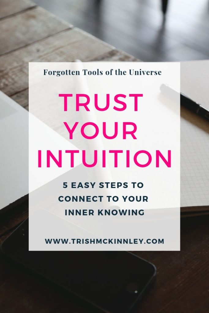trust your intuition it never lies
