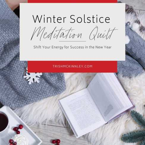 Winter Solstice Meditation Quilt