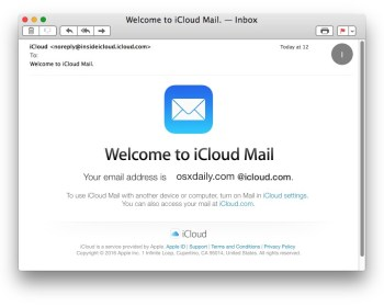icloud mail login