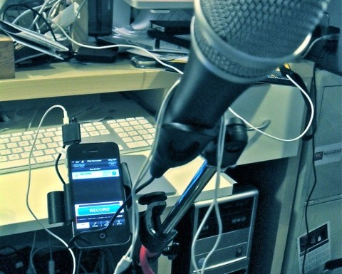 Solid Option for Portable Podcasting: iRig Mic and iRig Recorder for iOS