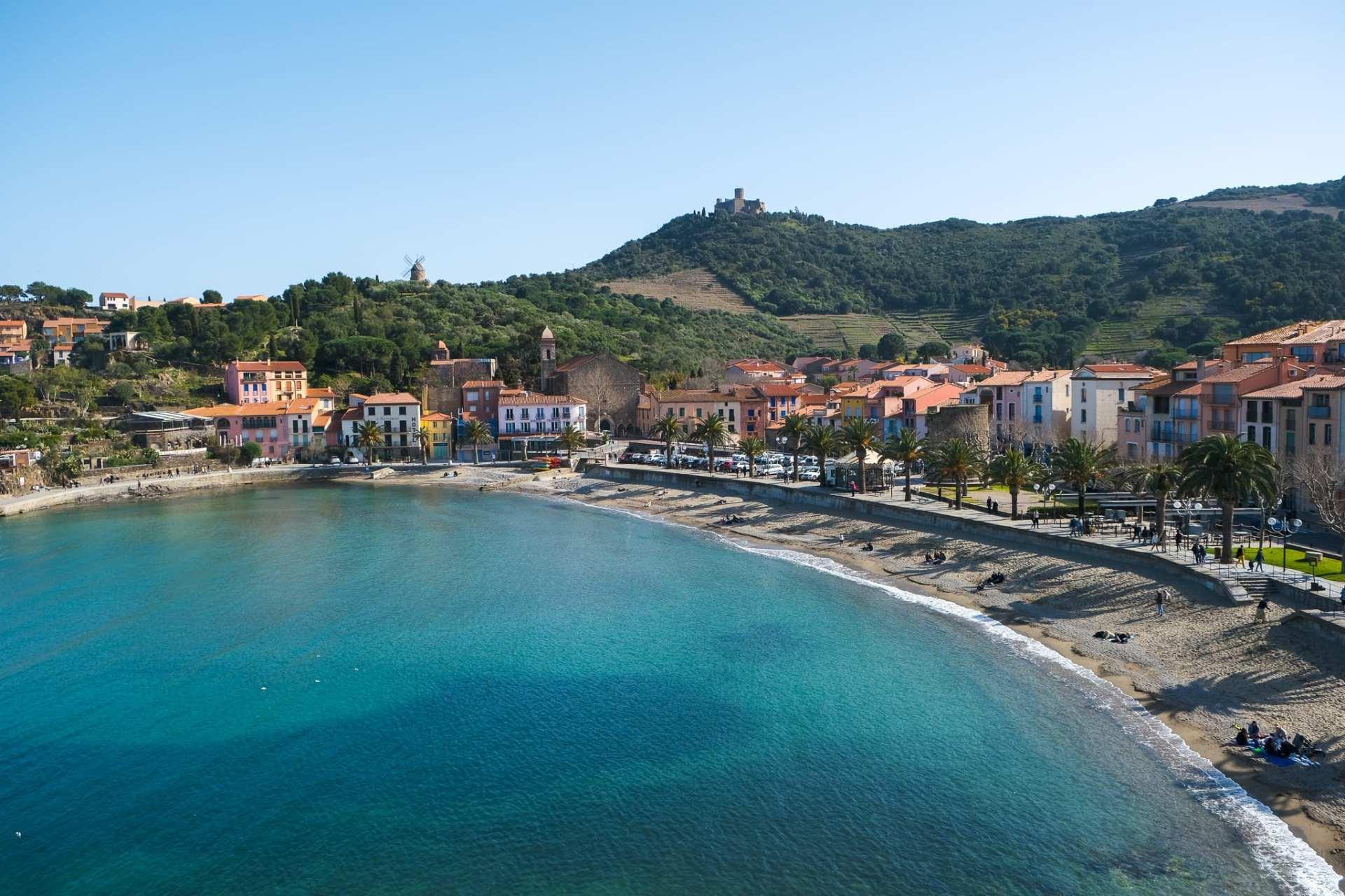 Vu sur Collioure