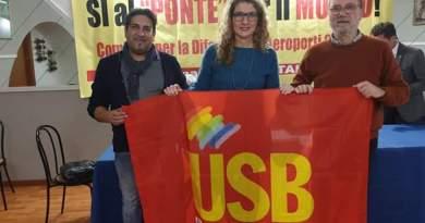 """CATANIA – USB: NO ALLA PRIVATIZZAZIONE DELL'AEROPORTO """"FONTANAROSSA"""""""