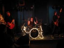 Gratiz 3 NYE at the Cornerhouse 2006 supporting Back Door Slam