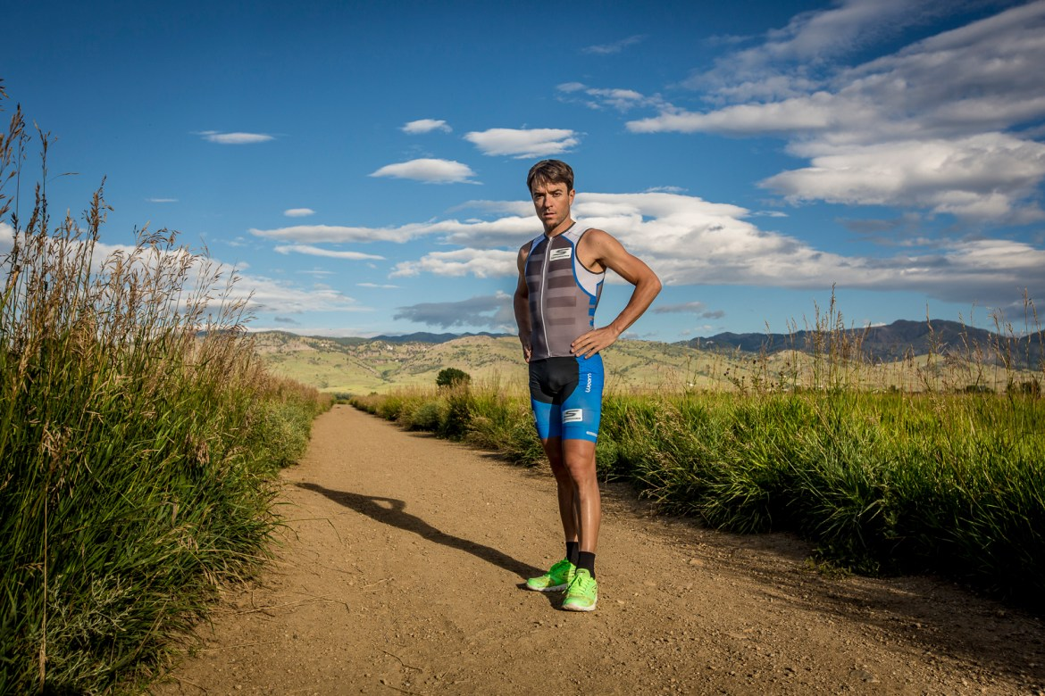 Frank Silvestrim no Training Camp de altitude, em Boulder, no Colorado. foto: Rodrigo Eichler