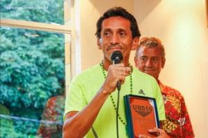 Marcio Soares, ícone do triathlon no Amazonas e finisher do UB515 2014. Foto: Sandra Guedes