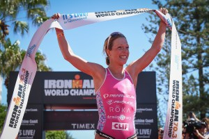 Holly Lawarence - campeã mundial de Ironman 70.3 em 2016