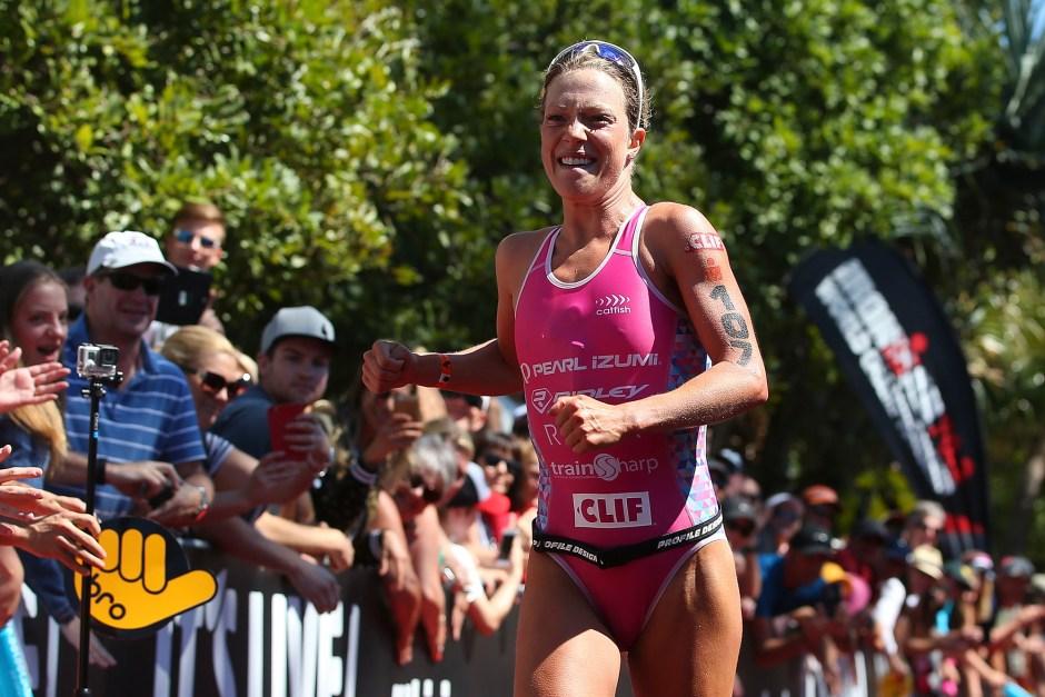 Holly Lawrence, nova campeã mundial de Ironman 70.3 . Foto: Matt Roberts/Getty Images