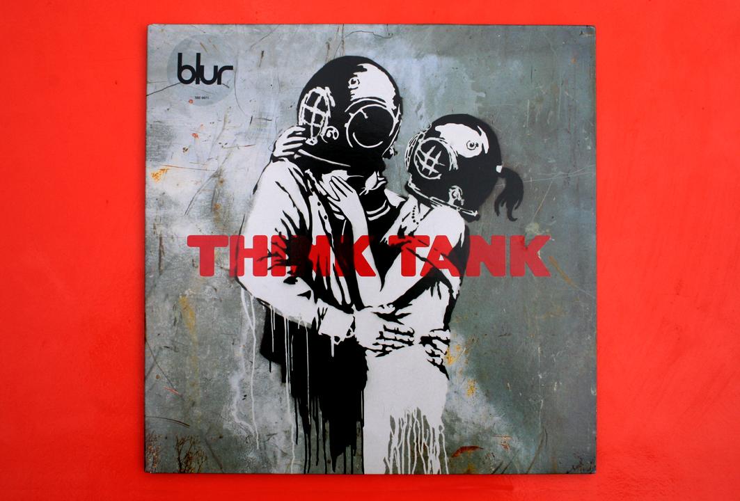 Blur - Think Tank Vinyl packaging