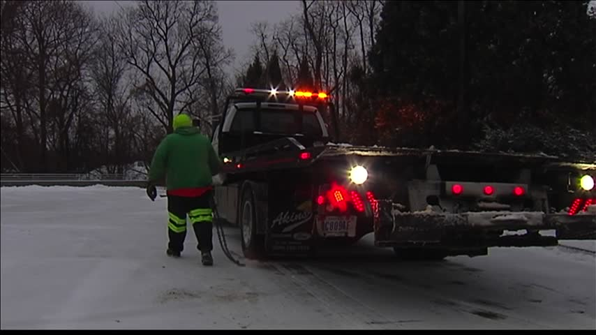 Winter Weather Caused Multiple Road Incidents