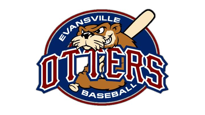 Evansville Otters Baseball Logo