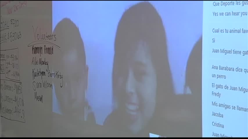 Students Skyping with Students_26555376