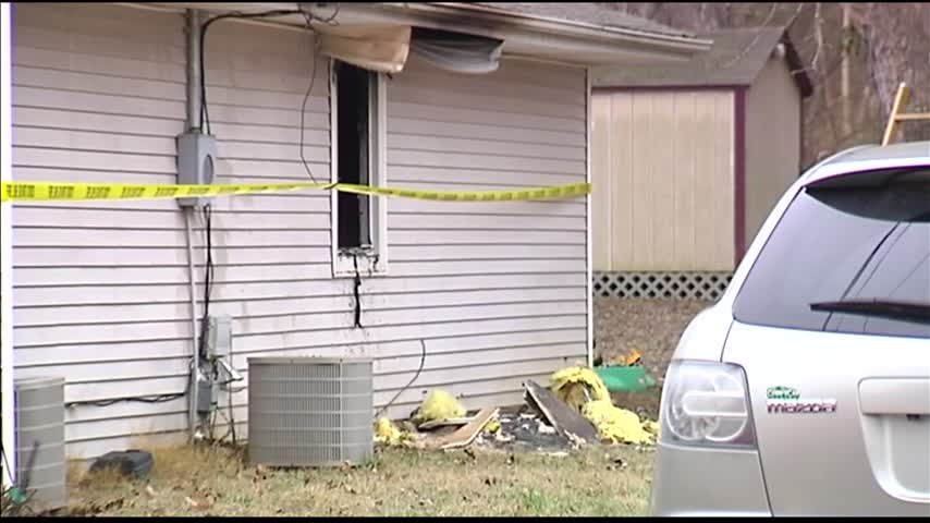 Fire at Boonville Duplex_76106764