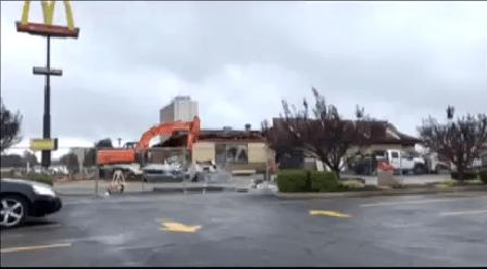 Owensboro McDonald's Demolition