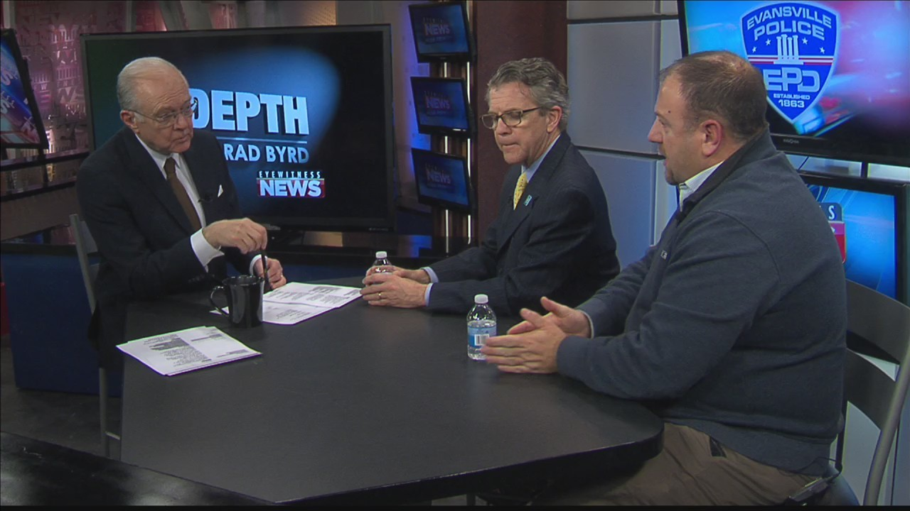 Mayor Winnecke and Chief Bolin talk Violent Crimes