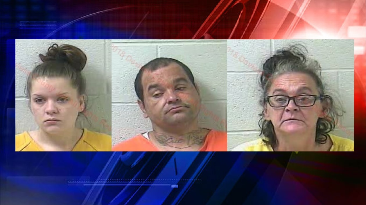 KSP seizes large amount of meth, arrest 3 in search
