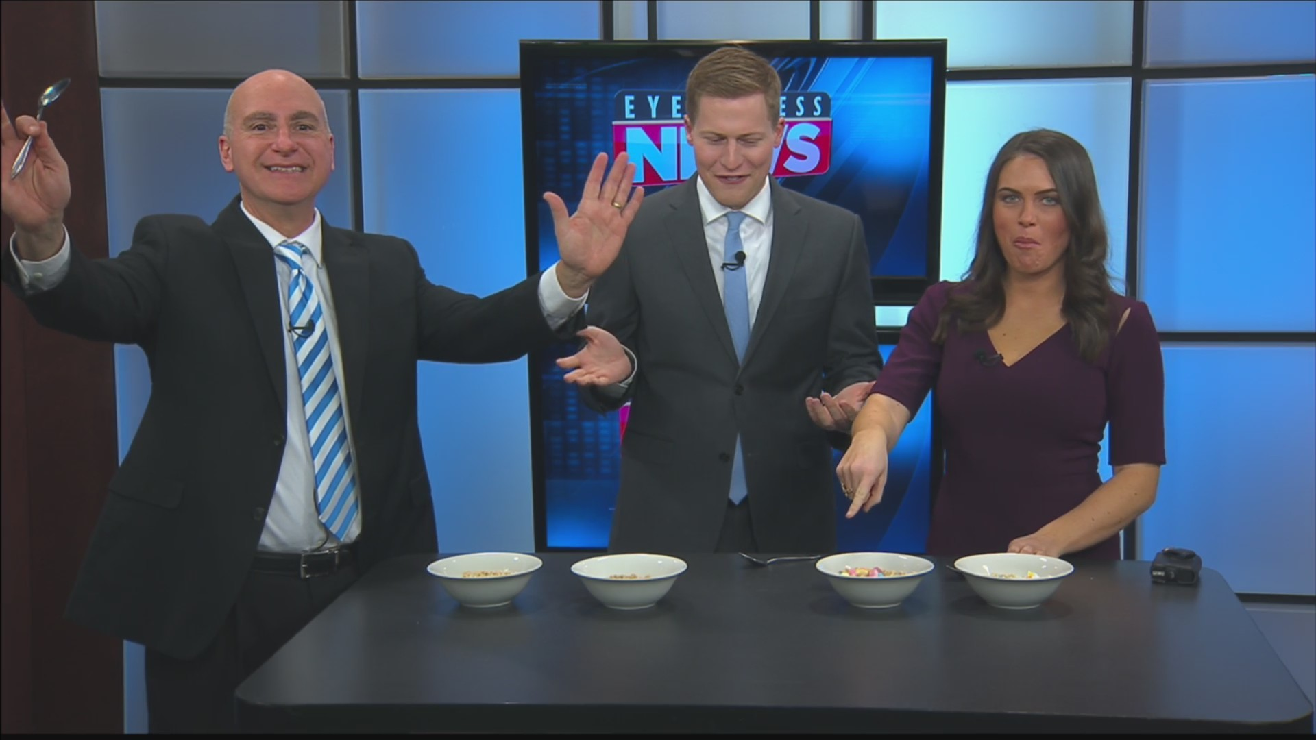 WATCH: Brand-Name Cereal Challenge