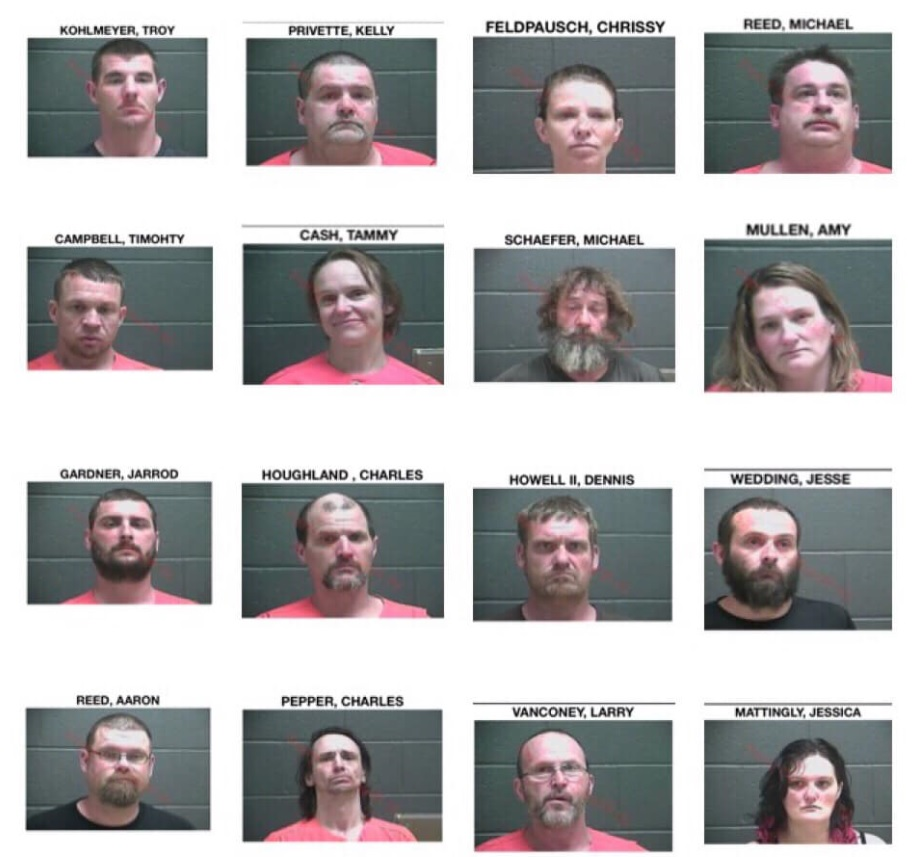 Over two dozen arrested in Perry County drug roundup
